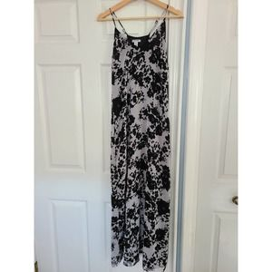 Old Navy Maxi Dress Black and White XS